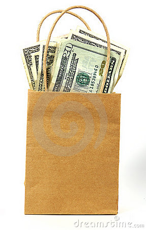 Free Money Bag 2 Stock Images - 42734