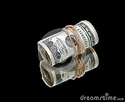 Money on black