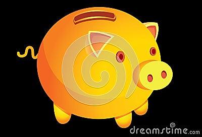 A-money-box-is-a-pig