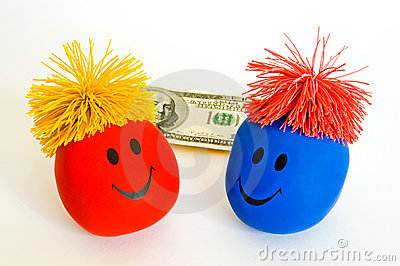 Money Brings Bright Smiles!