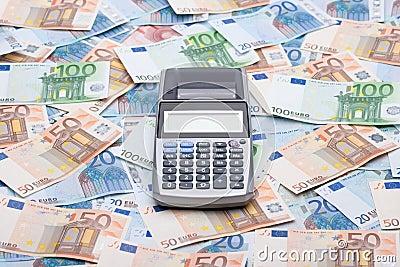 Money and calculator