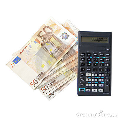 Money with calculator