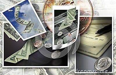 Money cash banking