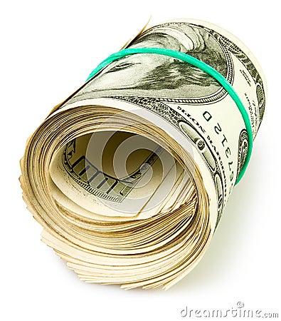 Free Money Cash Roll Stock Photography - 28000622