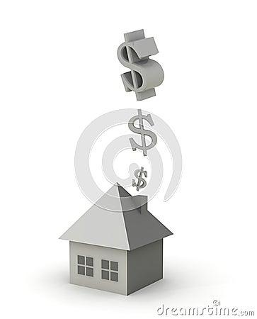 Money in the chimney