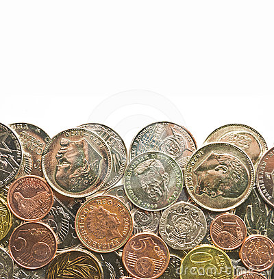 Free Money Coins Royalty Free Stock Image - 24380966