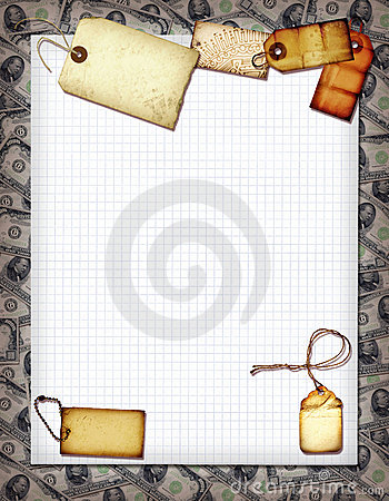 Money Collage Stock Photo - Image: 10696520