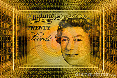 Money concept, Great Britain