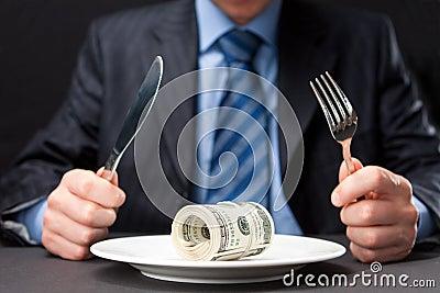 Money for dinner