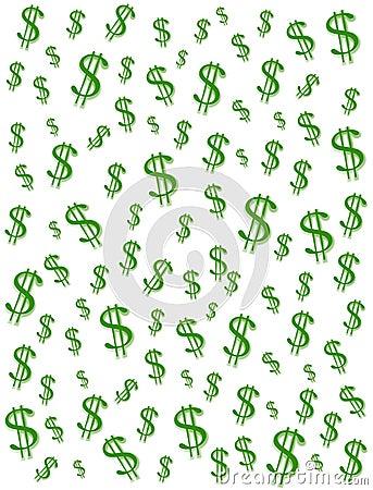 Money Dollar Signs Background