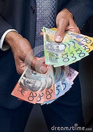 Money Dollars Hands Business