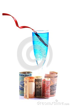 Money and drink