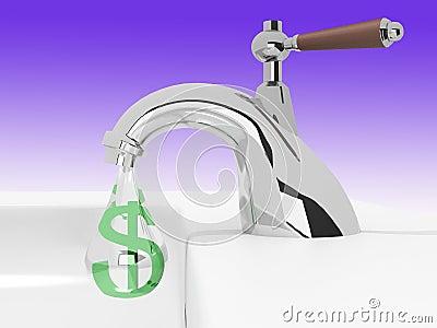 Money drips