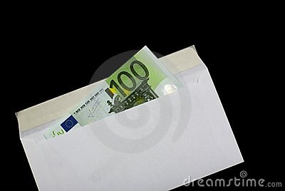 Money in envelope 7
