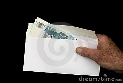 Money in envelope 8