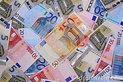 Money euro background