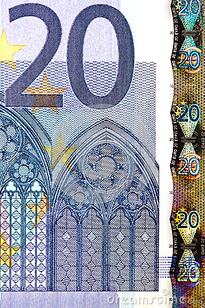 Money - Euro - European Union Editorial Stock Photo