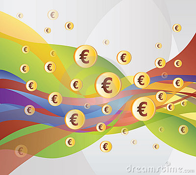 Money / Euro Flow - Illustration