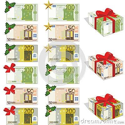 Money and euros