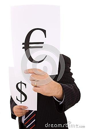 Money expert businessman