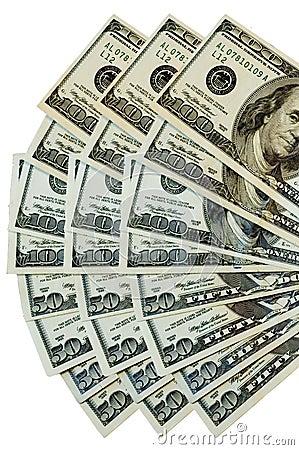 Free Money Fan Stock Image - 480361