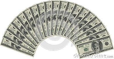 Money fan