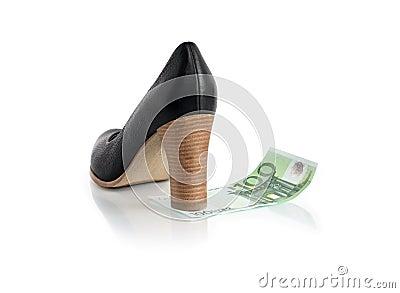 Money Female Shoe