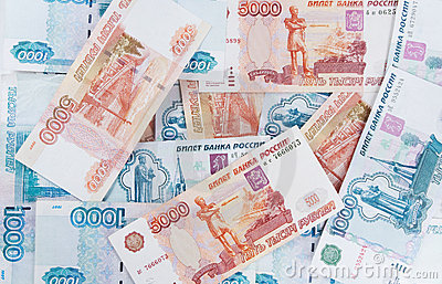 Money  five thousand and  thousand rubles