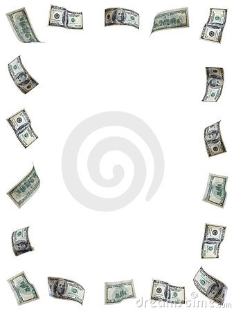 Free Money Frame Stock Photography - 4518142