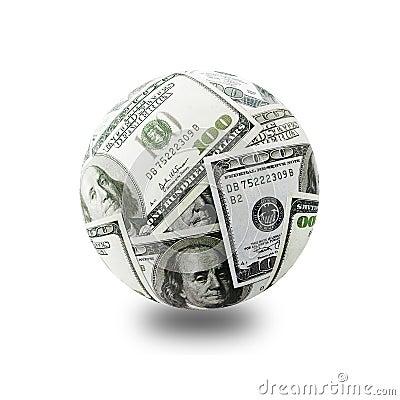 Free Money Globe Stock Photography - 1849552