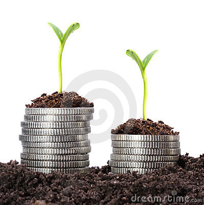 Money growth.