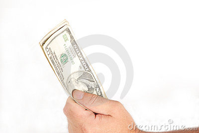 Money In Hand Stock Photography - Image: 1213322