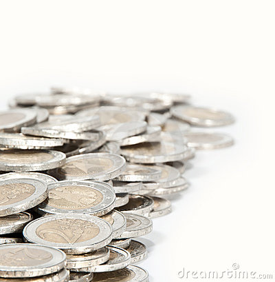 Money heap (close-up picture)