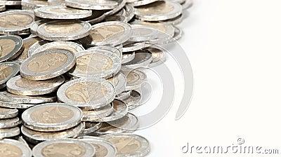 Money heap (close-up picture)