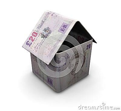 Free Money House Stock Photography - 1125882
