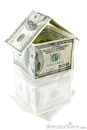 Free Money House Stock Photography - 2632042