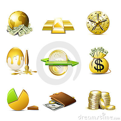Money icons | Bella series