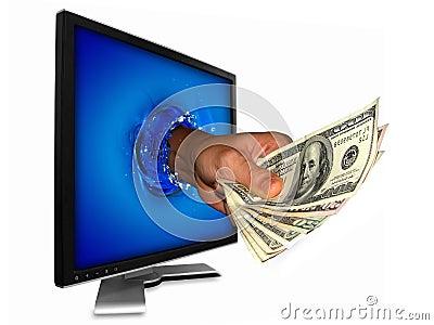 Money from internet