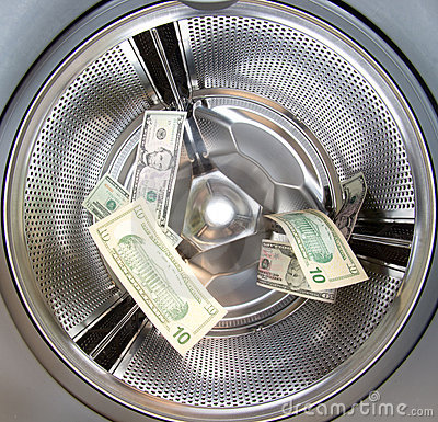Free Money Laundering Royalty Free Stock Images - 19128439