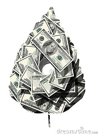 Money leaf