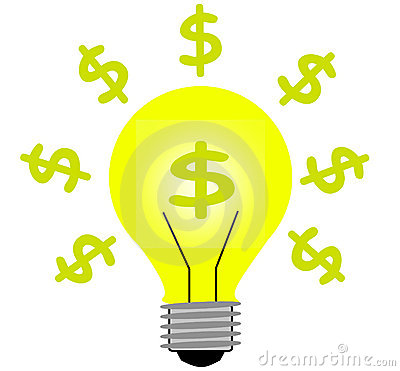 Money light idea