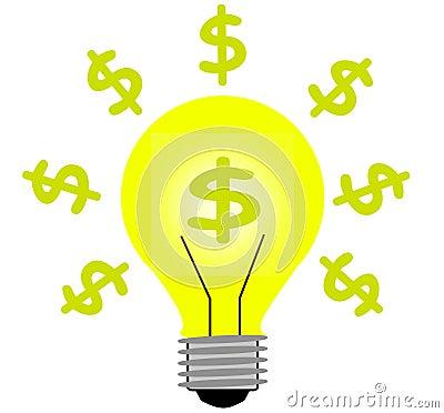 Money light idea