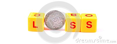 Money Loss Royalty Free Stock Photography - Image: 15411037