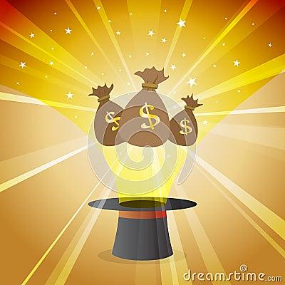 Money Magic Hat