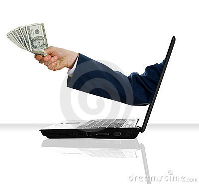 Free Money Man Royalty Free Stock Images - 3177379