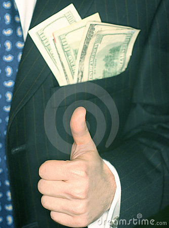 Free Money Man Stock Photography - 69652