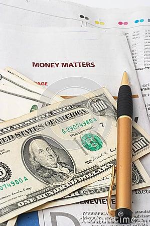 Money Market analysis, calculator, cash