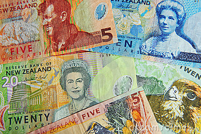 Money Notes Bills - New Zealand