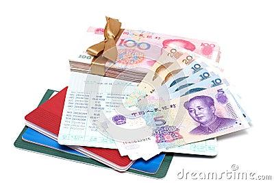 Money and passbook