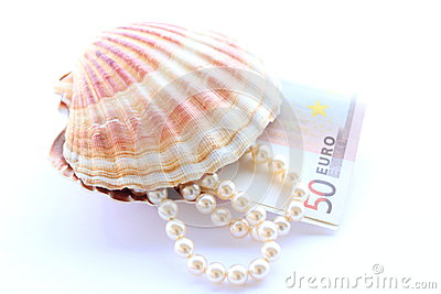 Money from pearls